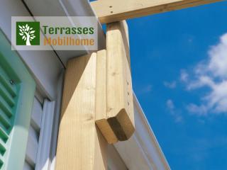 detail charpente terrasse mobil home futuna