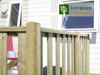 rambarde terrasse mobil home tribu