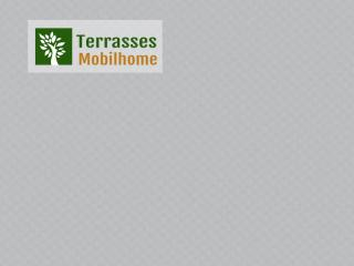 coloris gris terrasse mobil home clairval