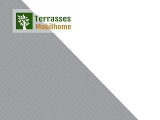 coloris gris blanc terrasse mobil home clairval