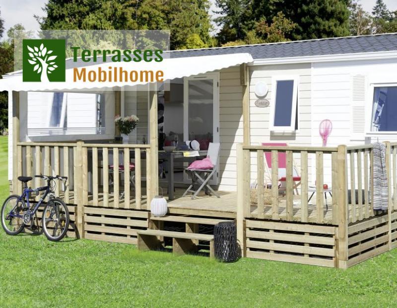 terrasse mobil home couverte, le meilleur rapport qualité / prix