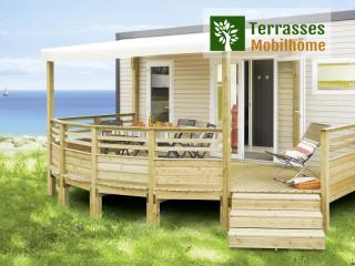 terrasse mobil home panorama simple