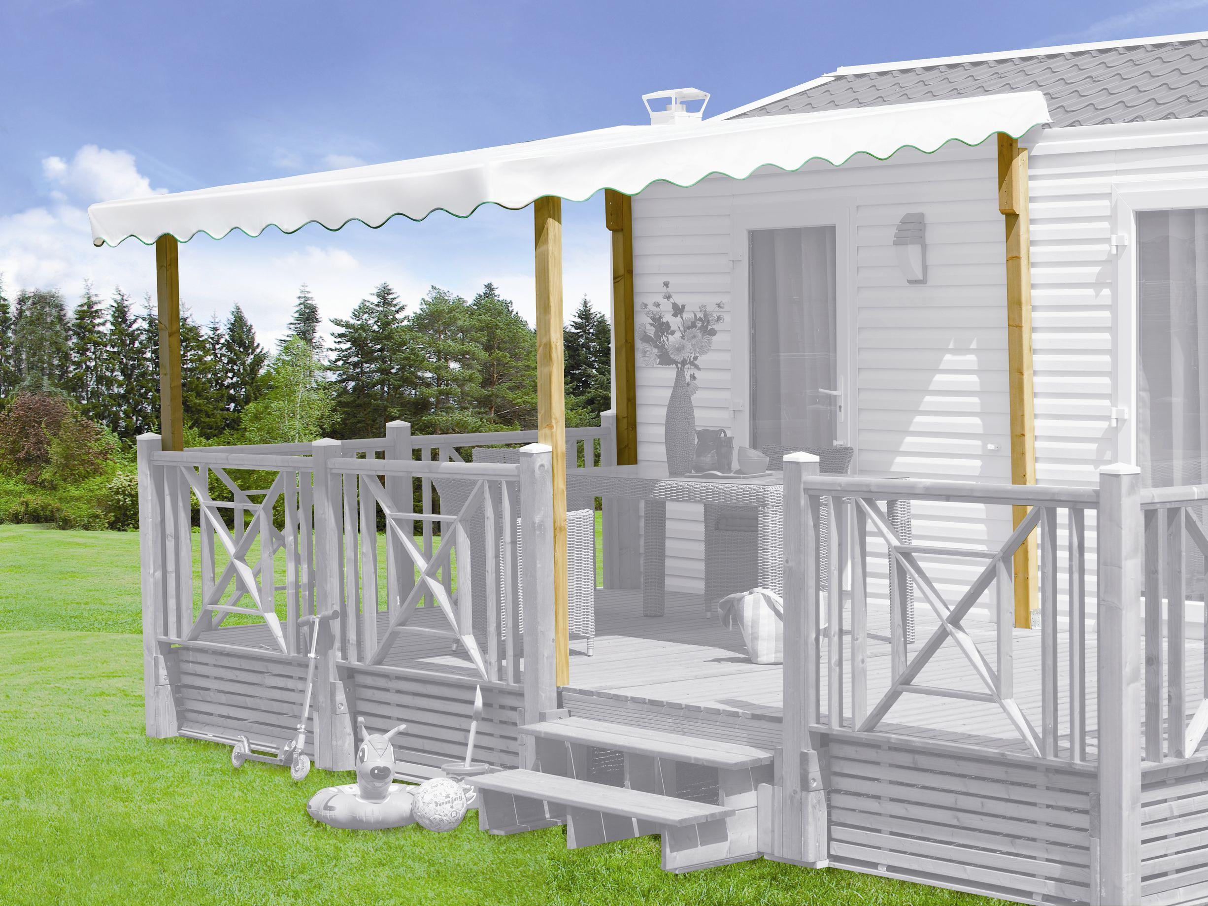 Kit couverture terrasse mobil-home terrasse ~~ Kit couverture ...