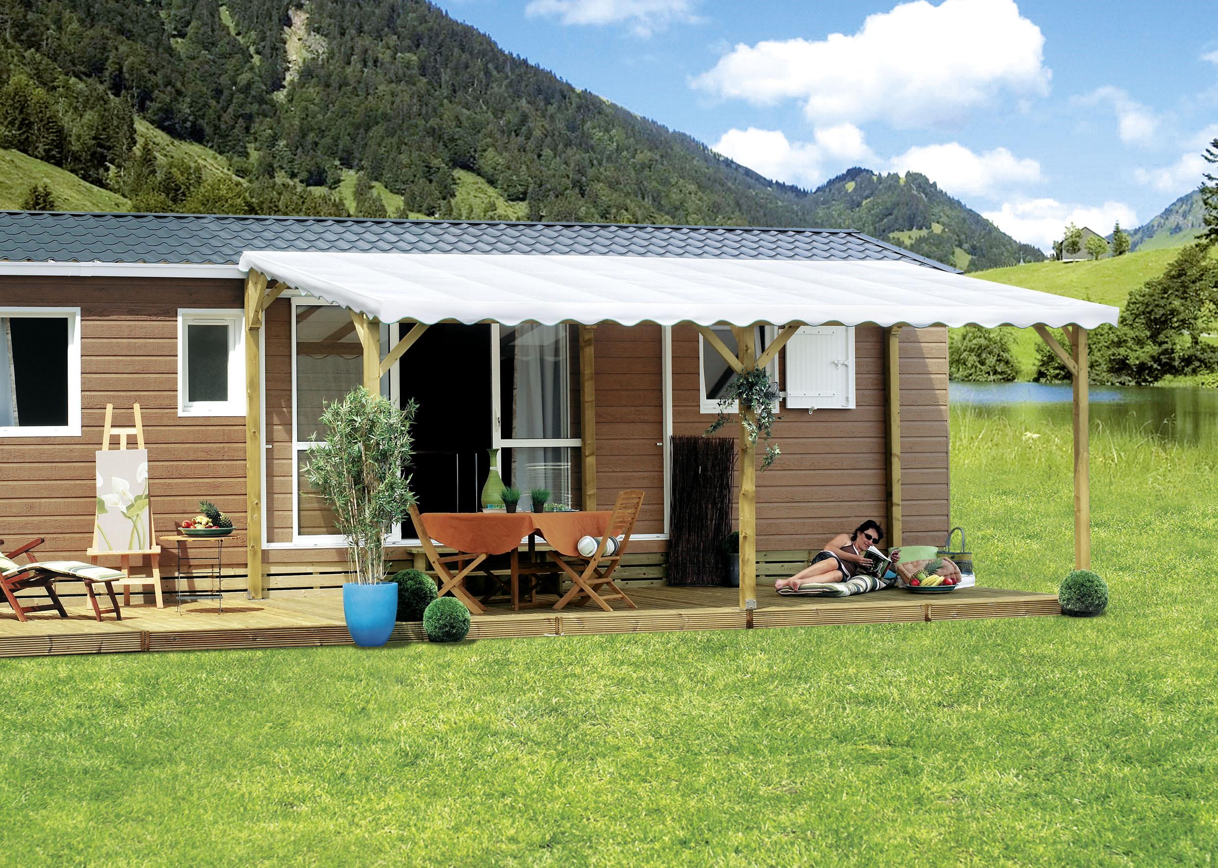 b che toit terrasse mobil home vente terrasse b che terrasse. Black Bedroom Furniture Sets. Home Design Ideas