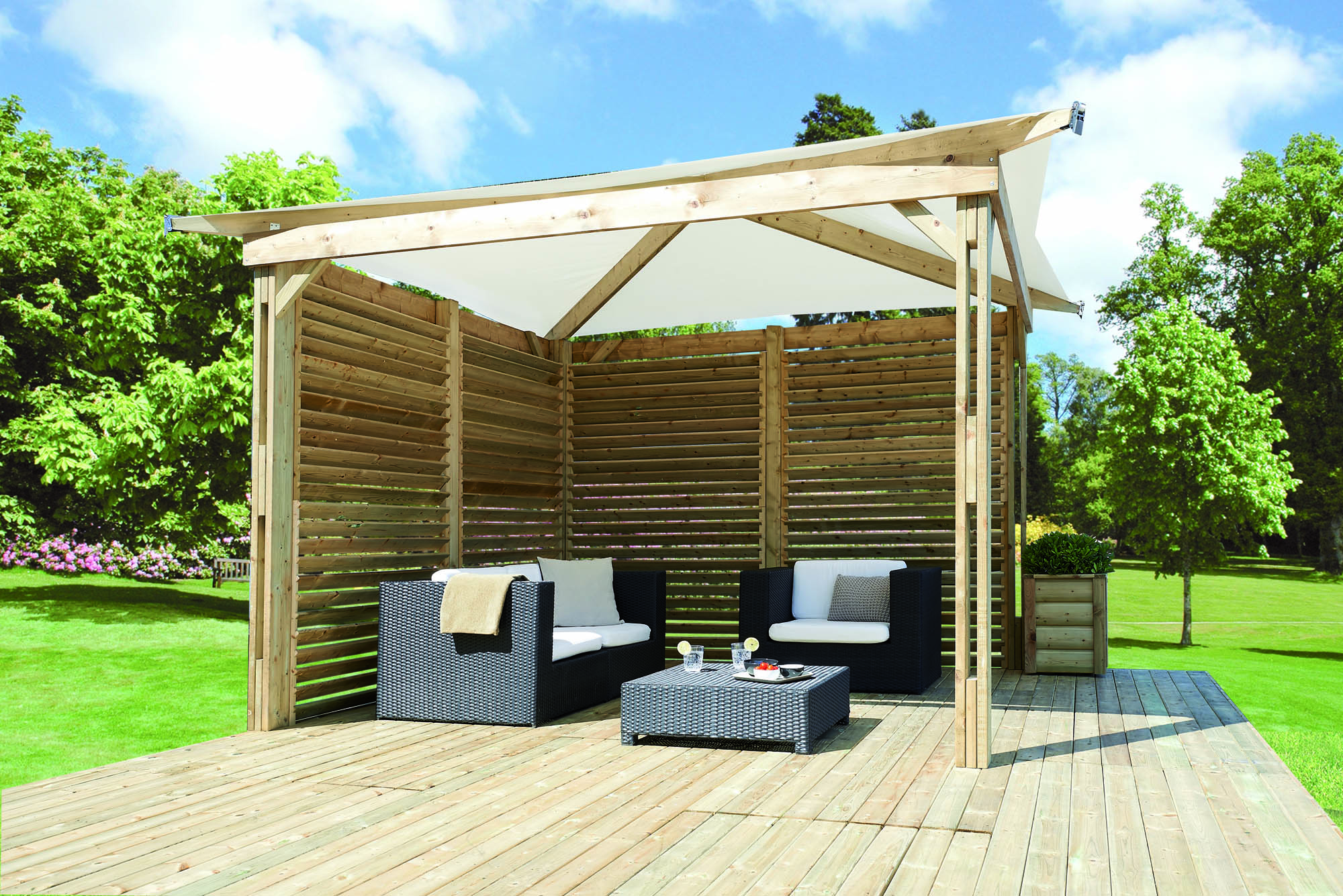 Le kiosque acheter couverture terrasse made in france for Couverture pour terrasse
