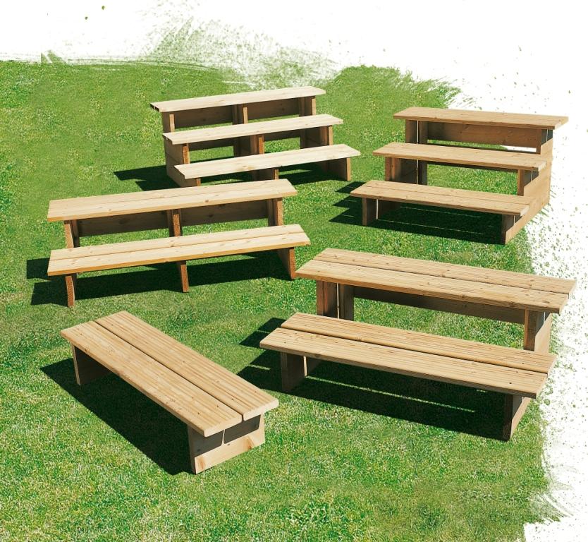 escalier en bois pour terrasse mobil home marche pied clairval. Black Bedroom Furniture Sets. Home Design Ideas