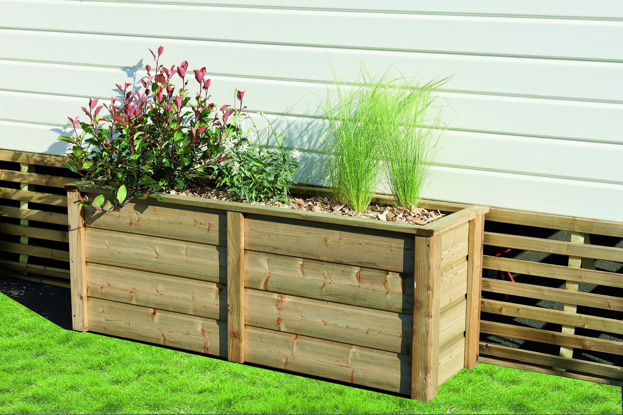 jardini re pour jardin et terrasse de mobil home clairval acheter accessoire terrasse. Black Bedroom Furniture Sets. Home Design Ideas