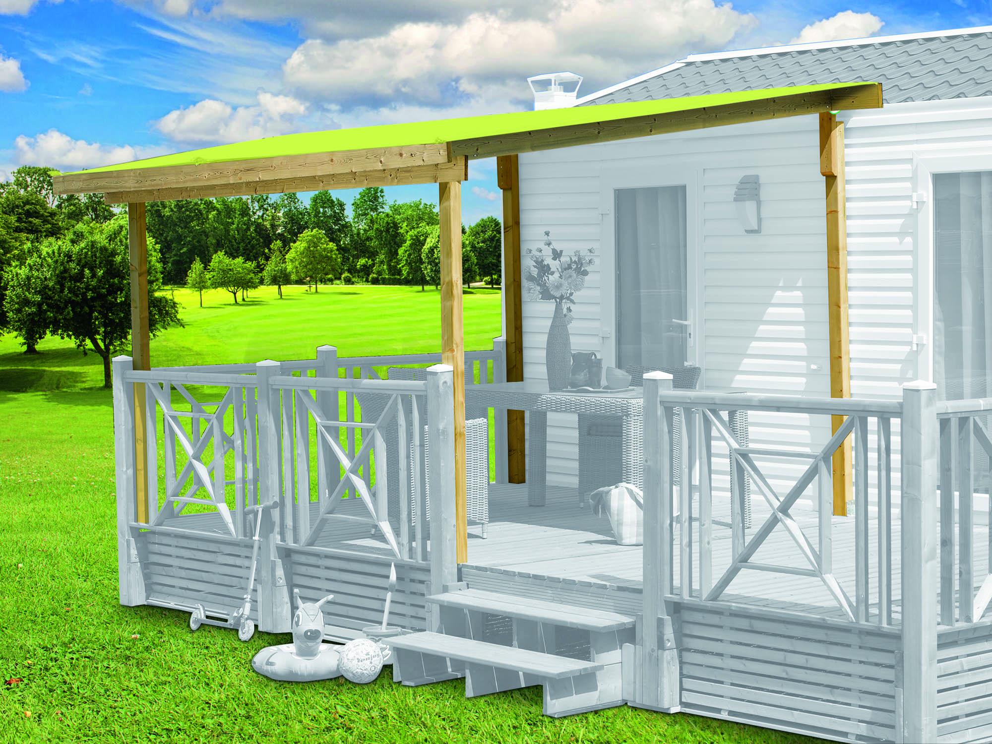 Couverture universelle adaptable à toutes les marques de terrasses